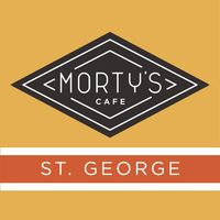 Morty's Cafe: St George logo
