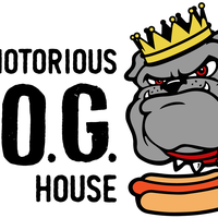 The Notorious Dog House logo