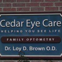 Cedar Eye Care logo