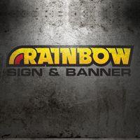Rainbow Sign & Banner logo