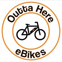 Outta Here eBikes logo
