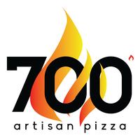 700 Degree Artisan Pizza logo