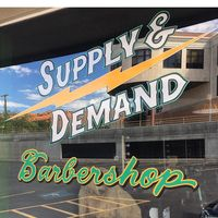 Supply & Demand Barbershop logo