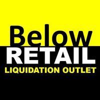Below Retail Liquidation Outlet logo