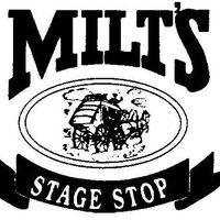 Milt's Stage Stop logo