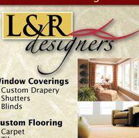 L & R Designers logo