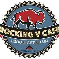 Rocking V Cafe logo