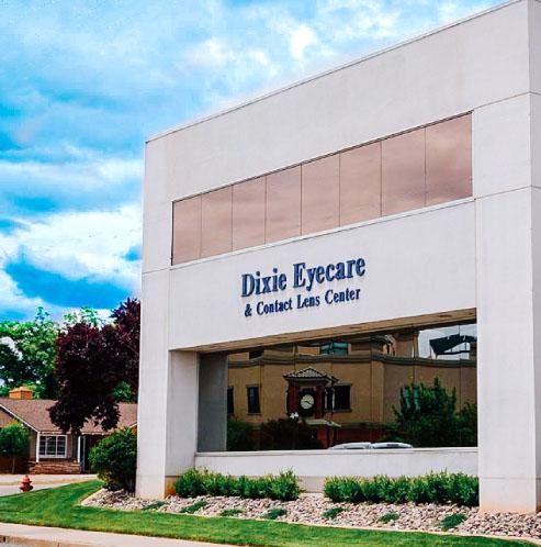 Dixie Eyecare & Contact Lens logo