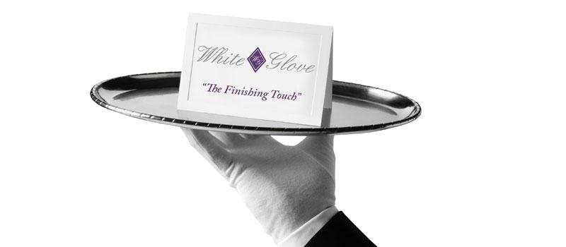 White Glove Construction logo