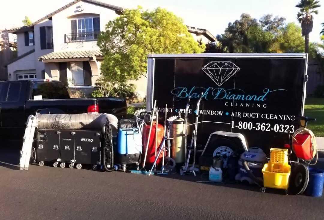 Black Diamond Carpet Cleaning - St George logo