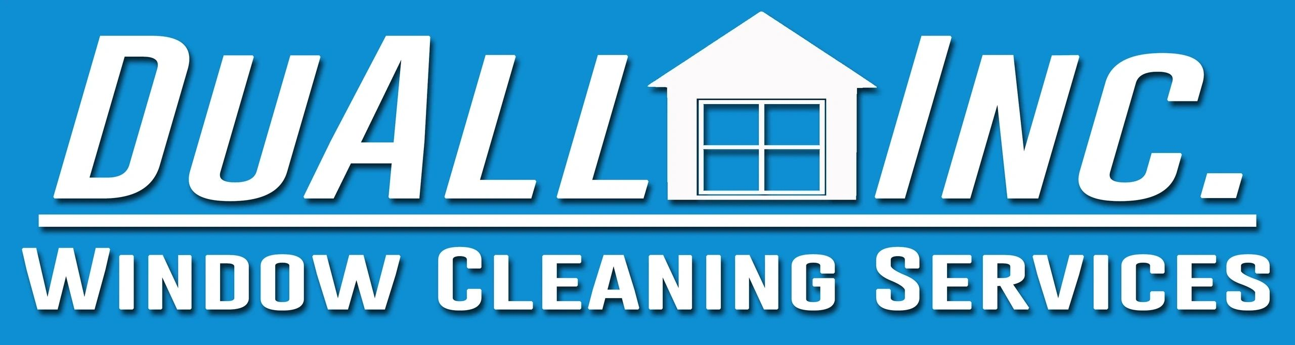 DuAll Window Cleaning logo
