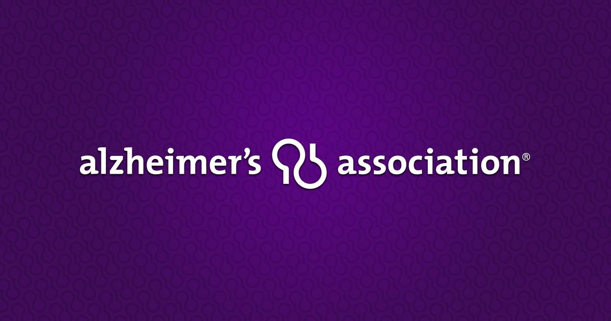 Alzheimer's Association St George logo