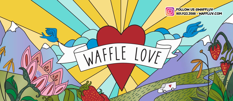 Waffle Love - St George logo