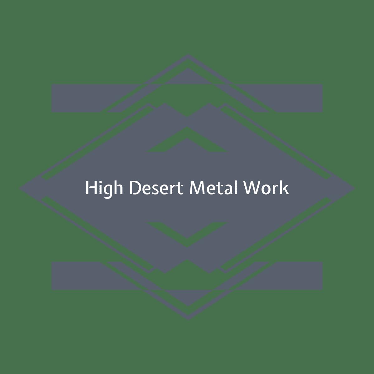 High Desert Metal Work LLC logo