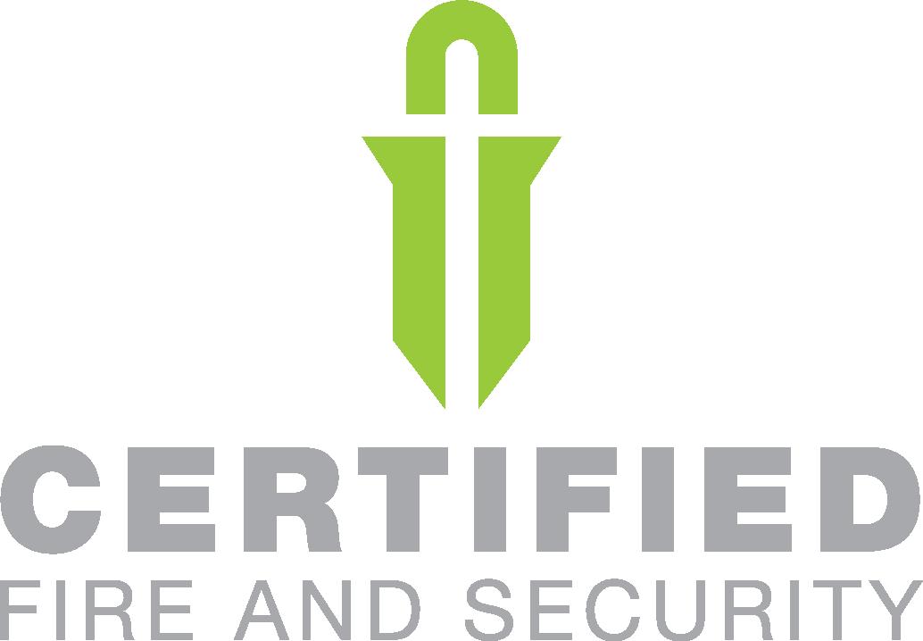 Certified Fire & Security logo