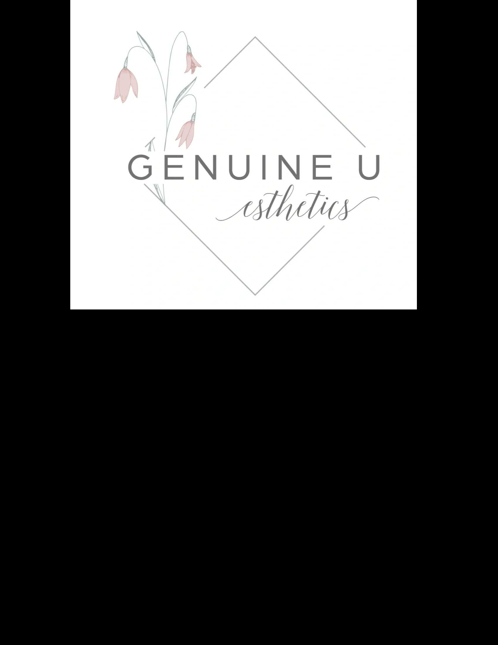 Genuine U Esthetics logo