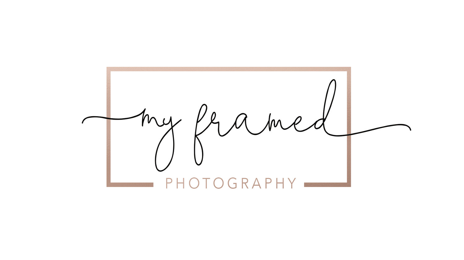 Photography in St George Utah: My Framed Photography logo